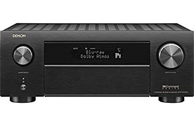 Denon AVRX4500H Denon 9.2 Channel 4K AV Receiver with 3D Audio and Alexa Voice Control Black