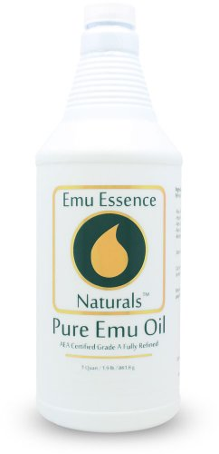 Emu Essence Pure Emu Oil 8 oz AEA Certified