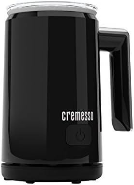 color negro Espumador de leche Cremesso D-051