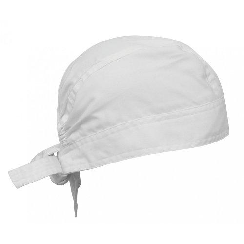 Premier Chefs Zandana / Hat / Chefwear (One Size) (White) (Chef Pants Chefwear)