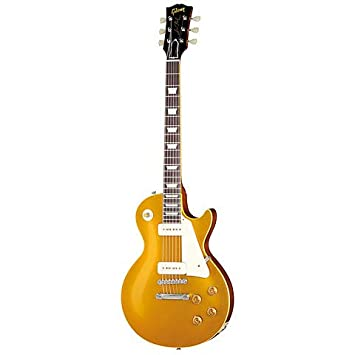 Gibson Custom Shop 1956 Les Paul Goldtop VOS · Guitarra eléctrica: Amazon.es: Instrumentos musicales
