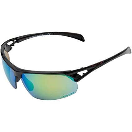 8f44a0ae516b Image Unavailable. Image not available for. Color: Rawlings 28 Baseball Sunglasses  Black Green