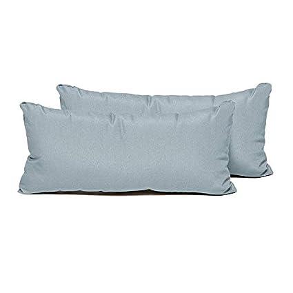 Amazon.com: TK Classics SPA - Juego de 2 almohadas ...