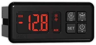 Termostato digital AKO-D14112-50°/+99° | AKO 12V-24V C/descar. 1 Rele conmutado (NTC)