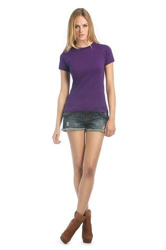 Exact 190 Ladies T-Shirt, Farbe:Purple;Größe:XS