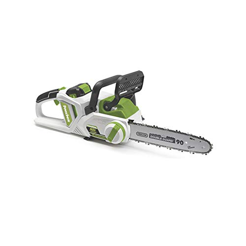 POWERSMITH 14 Inch Cordless Chainsaw w/ 40V Max Lithium Ion Battery and Charger