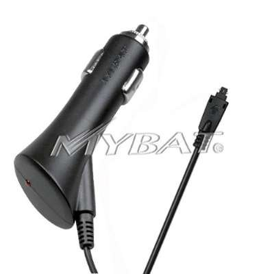 - Black Premium Travel Car Charger with IC Chip Technology for Palm Treo 650/700 / 750/680 / Centro 690 [Mybat Brand]