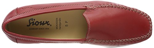 Rosso Donna rot Sioux Mocassini Campina qTwWg0