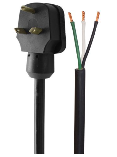 Voltec 16-00566 30A Right Angle Power Supply Cord - 35' by Voltec Industries