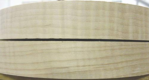 Curly Maple Figured wood veneer edgebanding 15/16