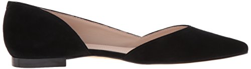 Women's LTD Flat Fisher Marc Black Pointed Sunny4 Toe q6Ez5wCx