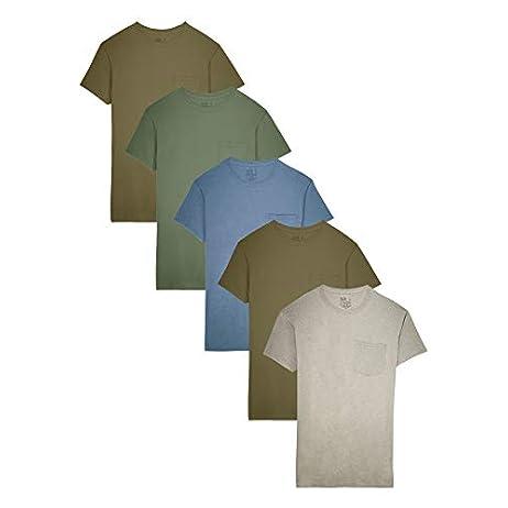 Fruit of the Loom Men's Pocket T-Shirt Multipack 1