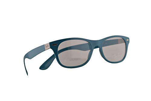 Ray Ban RX7032 Eyeglasses 52-17-145 Oil w/Demo Clear Lens 5436 RX 7032 RB 7032 ()