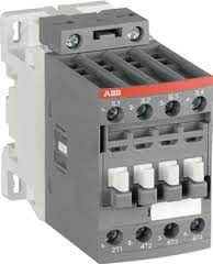- ABB, A26-30-10-84, 3 Pole, 28 Amps, 120VAC Coil, IEC Rated Contactor