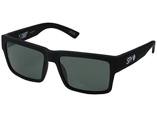 Spy Optic Montana Sunglasses Matte Black w/ Happy Grey Green Lens + - Glasses Spy Flynn