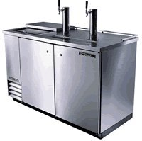 UNDERBAR REFRIGERATION - STAINLESS STEEL CLUB TOP DIRECT DRAW BEER DISPENSERS (Underbar Steel Stainless Refrigeration)