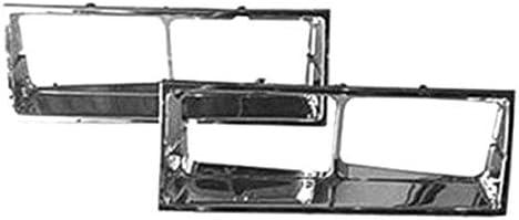 amazon com goodmark headlight bezel set for 1981 1986 oldsmobile cutlass supreme automotive goodmark headlight bezel set for 1981 1986 oldsmobile cutlass supreme