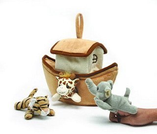 (Unipak Plush Noah's Ark Finger Puppet Set)
