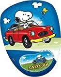 Blue Snoopy Driving a Car Mousepad with Gel Pad - Snoopy Mousepad