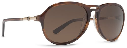 (VonZipper Digby Round Sunglasses,Tortoise,54 mm)