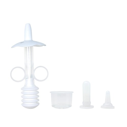 Hongfa Pet Syringe Milk Nursing Bottles Set Newborn Puppy Bottles for Nursing, Oral Syringe for Kitten Puppy,2pcs Replaceable Soft Tip (Bottle Feeding Puppies)