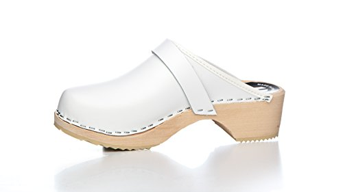 Wooden Swedish White Swe Original Clogs HqwtWv