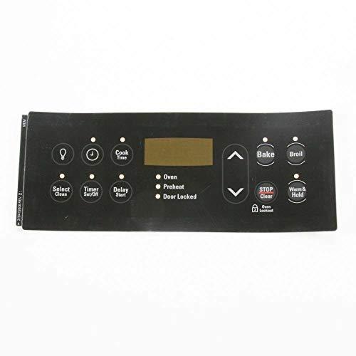 316419306 Black Clock Overlay for Kenmore Range 1940462 316419353 AH3495602 AP3767951 EA3495602 PS978028 Genuine OEM