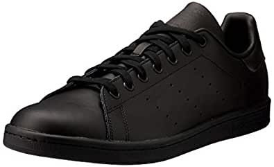 adidas Men's Stan Smith Trainers, Black/Black/Black, 6.5 US