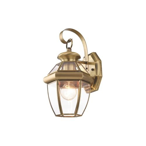 Outdoor Lighting Antique Brass Finish in Florida - 3
