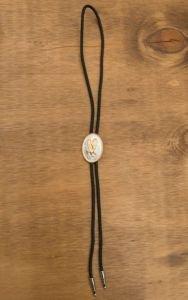 M & F Western Men's Flying Eagle Bolo Tie Black One Size