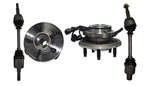 - Detroit Axle - 4PC Front CV Axle Drive Shafts and Wheel Hub Bearing Assemblies for 2002-2008 Ford Explorer 4WD - [2003-2005 Lincoln Aviator 4WD] - 2002-2005 Mercury Mountaineer 4WD