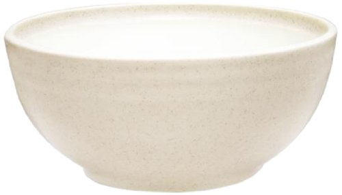 Noritake 42-Ounce Colorvara Round Vegetable Serving Bowl, 7-3/4-Inch, White