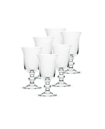 La Rochere Set Of 6, 9-ounce Amitie Stemmed Water Glasses for sale  Delivered anywhere in USA