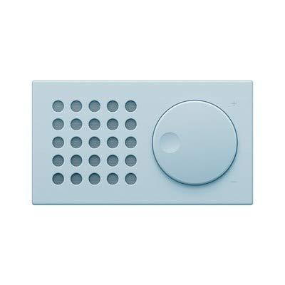 ポータブルBluetoothスピーカー 8時間再生 優れたステレオサウンドサポート ワイヤレスステレオペアリング ホーム/アウトドア/カースポーツ用 ブルー   B07N1DFCY7