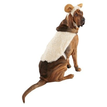 Pet Costume - Long Horned Sheep (SMALL) -