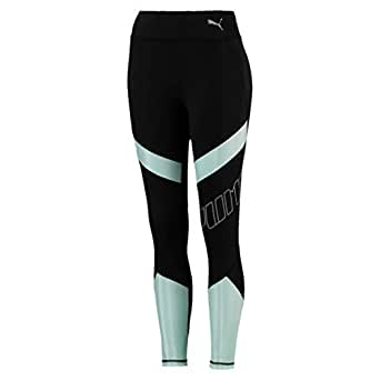 PUMA Women's Elite Speed Tight, Puma Black/fair Aqua, XS
