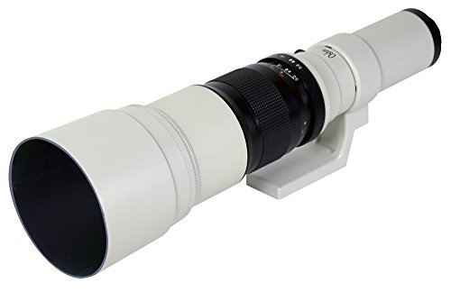 Oshiro 500mm f/6.3 LD UNC AL Super Telephoto Lens for Pen...
