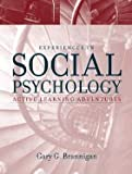 Experiences in Social Psychology Active Learning Adventures (Paperback, 2001)