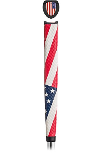 NEW Tour Mark American Flag USA Jumbo Oversize Putter Grip w/ Ball Marker