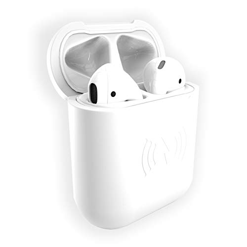 East Brooklyn Labs SliQ Qi Wireless Charging Case and Protective Sleeve Compatible with Apple Airpod Earphones