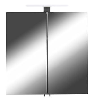 CAVADORE Spiegelschrank SHARPCUT / Eleganter Badezimmerschrank mit ...