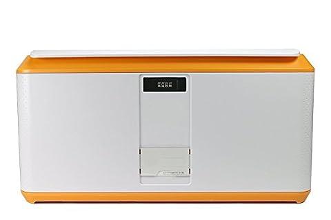 Lock Storage Container, EVERTOP 82 Quart/78 Liter Stackable Storage