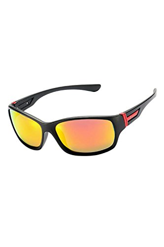 UV400 Gafas De Protección Deportes Rojo Hombres Ciclismo Polarizadas UV Gafas twg45q