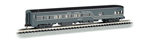 Bachmann Industries Smooth Side New York Central N-Scale Observation Car, 85'