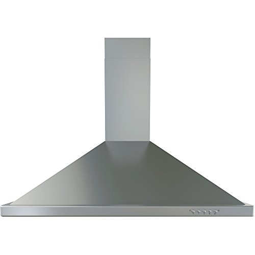 30-In. Chimney Wall-Mounted Range Hood - 600 CFM