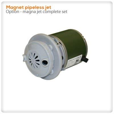 Spa Parts Jets - Pipeless Jet Magnetic / Spa Pedicure Chair Motor / Luraco Magnet Jet