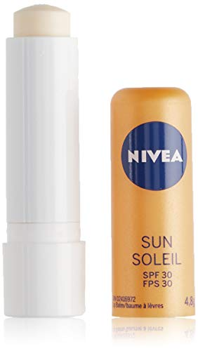 NIVEA Sun Caring Lip Balm Stick with SPF 30, 4.8g - Imported from Canada