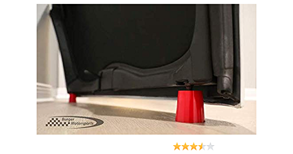 Melrose T-Top Pair Storage Stands for Corvette Targa Roof Panel Polyurethane Fits C5 C6 C7 C8 1997-Present