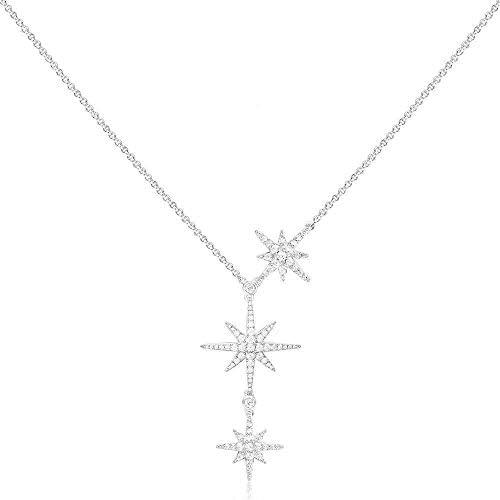 APM MONACO COLLECTION METEORITES Triple Météorites Verstellbare Halskette – Silber AC3350OX