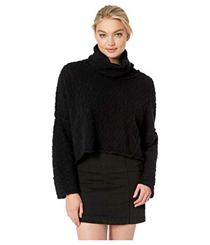 Free People Women's Big Easy Cowl Black Small